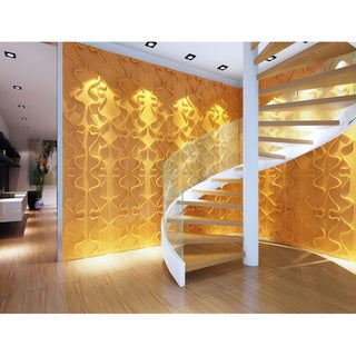 3d contemporary wall panels gesture design set of 10 - Designer Wall Paneling