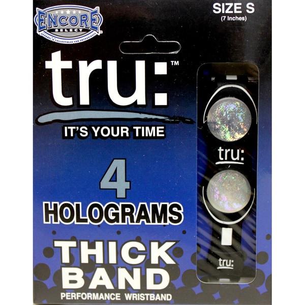 TRU Performance Black Wristband