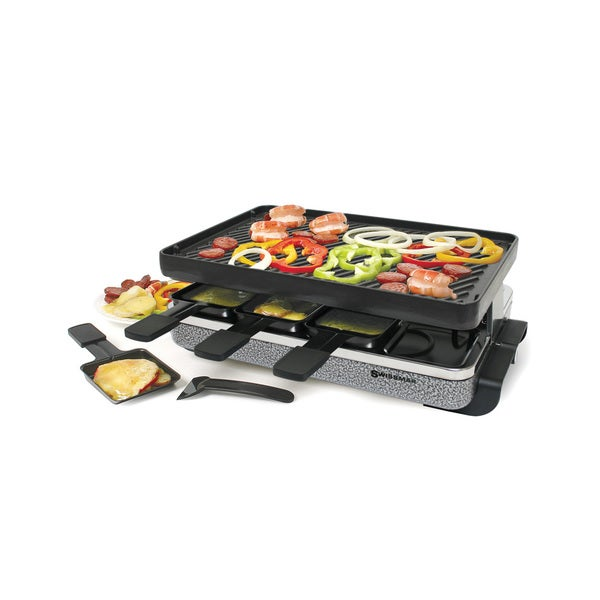 8-Person Eiger Raclette with Reversible Cast Iron Grill Plate KF-77071