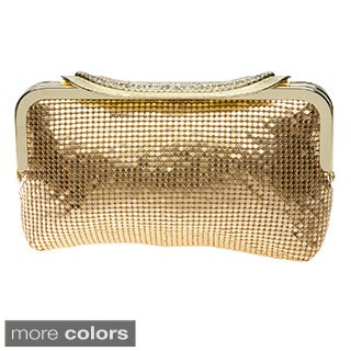 J. Furmani Metal Mesh Clutch
