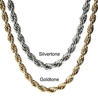 Stainless Steel Crucible Twisted Rope Chain