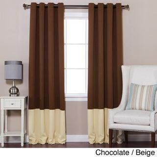 Curtains Ideas colorblock curtains : Brown, Color Block Curtains & Drapes - Shop The Best Deals For Apr ...