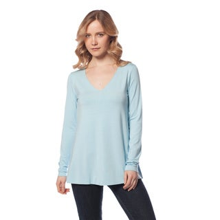 AtoZ Long Sleeve Flair Top