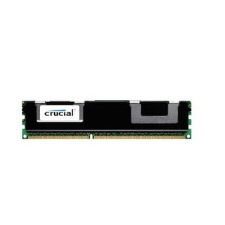 Crucial 4GB Single DDR3L 1600 MT/s (PC3-12800) SR x4 RDIMM 240-Pin Server Memory CT4G3ERSLS4160B