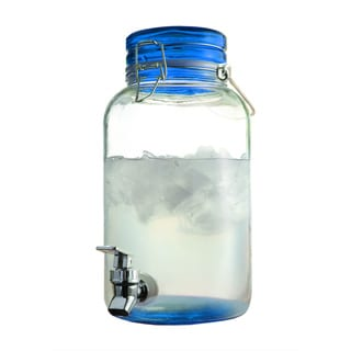 Style Setter Glass 1-gallon Beverage Dispenser
