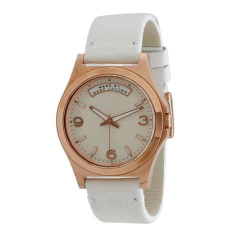 Marc Jacobs Women's Baby Dave MBM1260 Watch - White