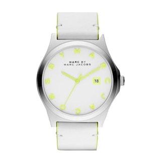 Marc Jacobs Men's 'Henry' Light Green/ White Watch