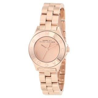 Marc Jacobs Women's 'Blade' Rose-goldtone Watch