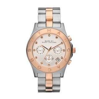 Marc Jacobs Women's 'Blade Chrono' Crystal-accented Watch