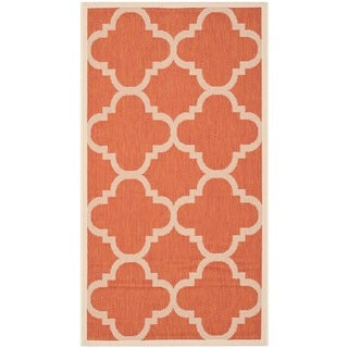 Safavieh Indoor/ Outdoor Courtyard Terracotta Rug (2'7 x 5')