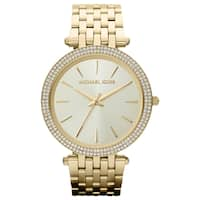 Michael Kors Women's MK3191 'Darci' Goldtone Watch - Gold