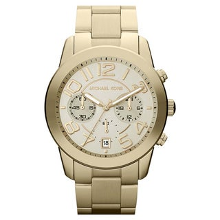 Michael Kors Women's MK5726 ' Mercer' Gold-Tone Stainless Steel Watch