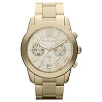 Michael Kors Women's MK5726 ' Mercer' Gold-Tone Stainless Steel Watch - GOLD