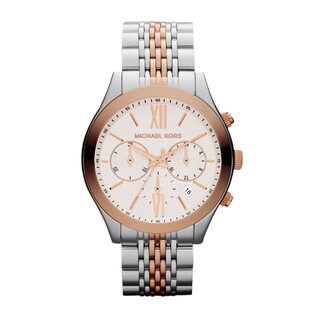 Michael Kors Women's MK5763 'Brookton' Chronograph Two-Tone Stainless Steel Watch