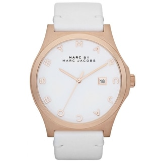 Marc Jacobs Women's 'Blade' White Dial Watch