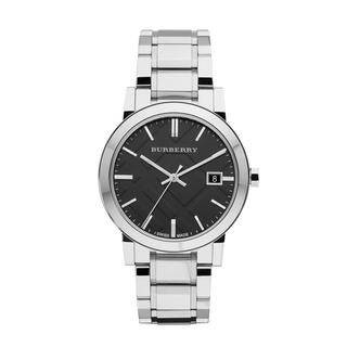 Burberry Women's 'City' Black Dial Watch