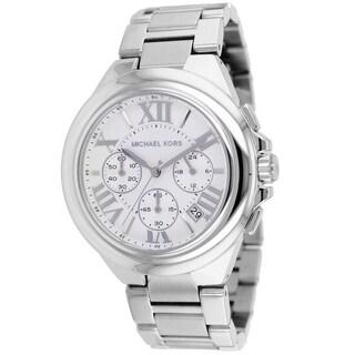 Michael Kors Women's MK5719 Camille Silvertone Chronograph Watch