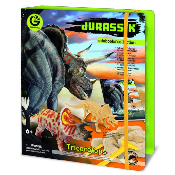 Jurassic Edubooks Triceratops