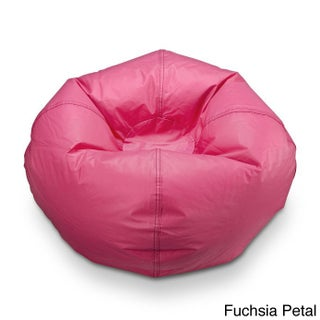 Ace Casual Matte Vinyl Bean Bag Chair