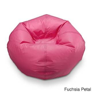 Ace Casual Matte Vinyl Bean Bag Chair