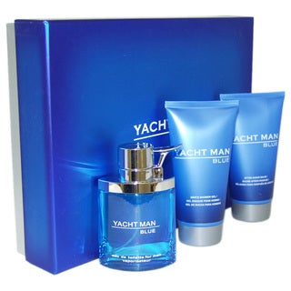 Myrurgia Yacht Man Blue Men's 3-piece Gift Set