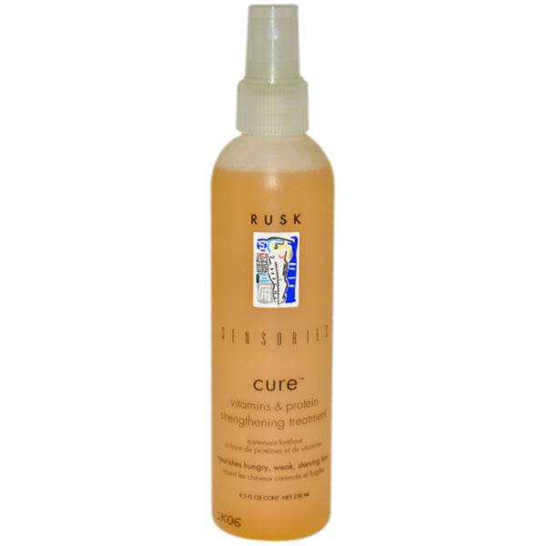 Rusk Sensories Cure 8.5-ounce Strengthening Treatment