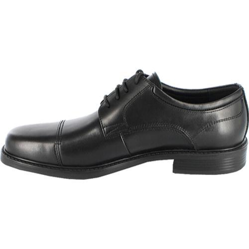 Men's Nunn Bush Jordan Black Smooth Leather