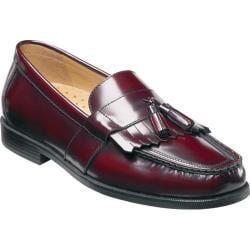 Nunn Bush Men's Keaton Burgundy Leather Oxfords - Thumbnail 0