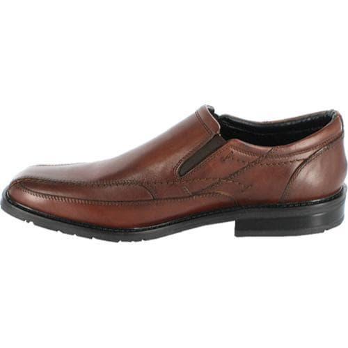Shop Men S Nunn Bush Kieran Brown Smooth Leather Free
