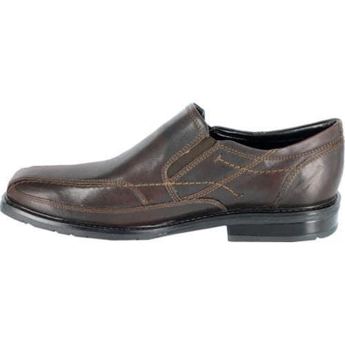 Shop Men S Nunn Bush Kieran Mocha Smooth Leather Free
