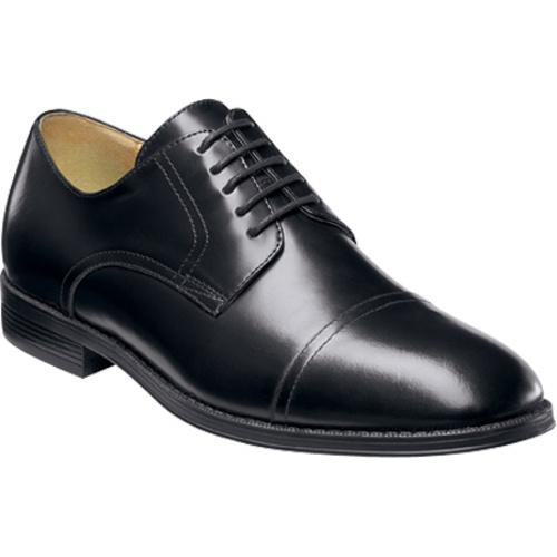 Men's Nunn Bush Kirkland Black Smooth Leather