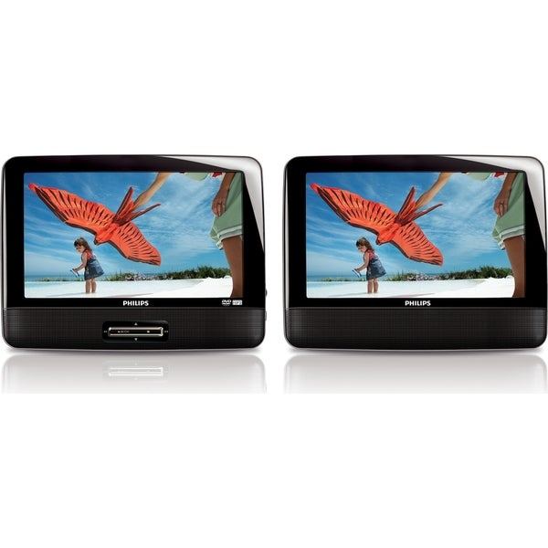 """Philips PD9012P Car DVD Player - 9"""" LCD"""