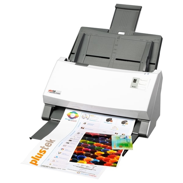 Plustek SmartOffice PS456U 80PPM Document Scanner