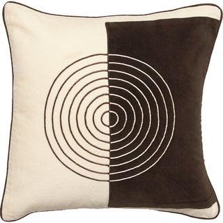 Surya 2-tone Decorative Throw Pillow