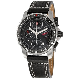 Victorinox Swiss Army Men's Black Dial Watch