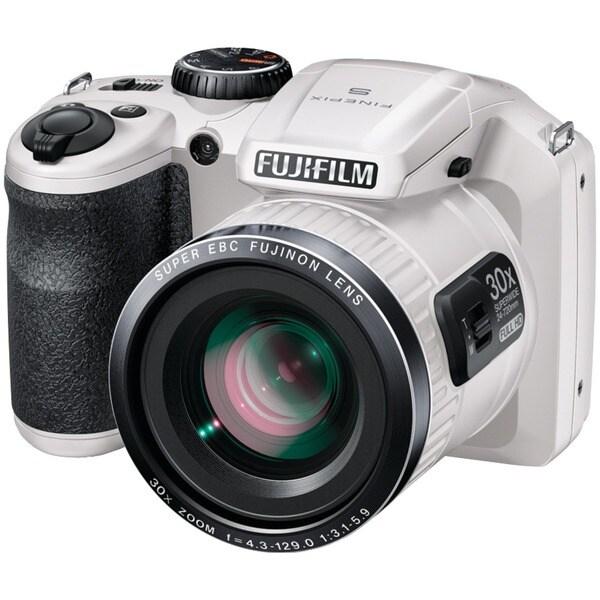Fujifilm FinePix SL300 14MP White Digital Camera