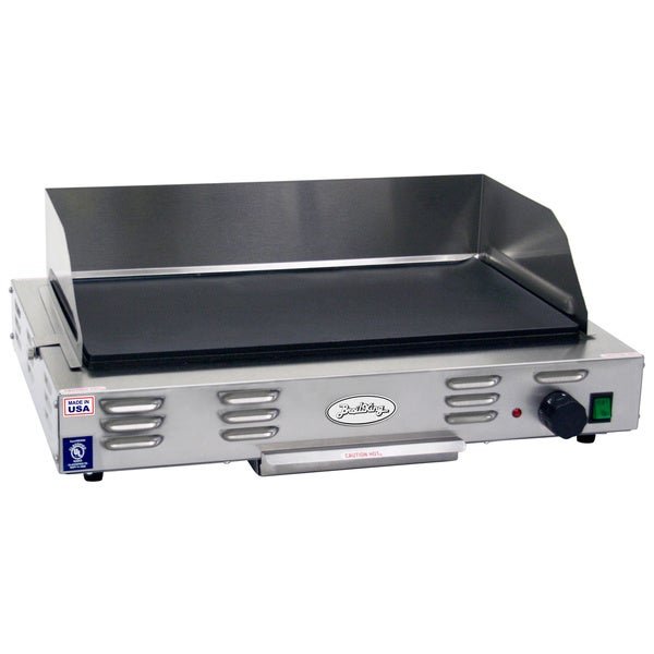 Broil King Heavy Duty Grey and Black Countertop Commercial Griddle