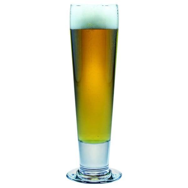 Tall Pilsner Beer Glasses (Set of 4)