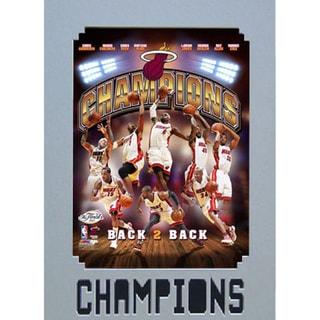 Miami Heat 2013 Champion Print