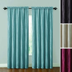 VCNY Sandy Satin Lined and Interlined 84-inch Curtain Panel