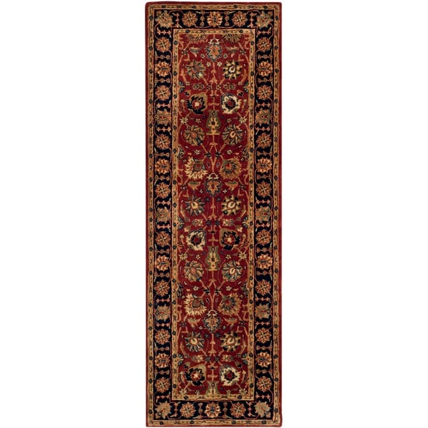 Safavieh Pl537a Persian Legend Wool Hand Tufted Rust Navy: Shop Safavieh Hand-made Persian Legend Rust/ Navy Wool Rug