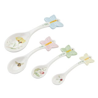 Lenox Butterfly Meadow 4-Piece Measuring Spoon Set