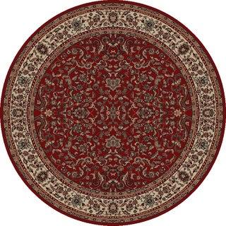 Merinos Prestige Red Area Rug (5'3 Round)