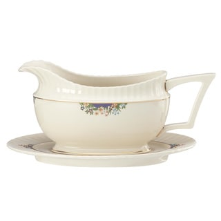 Lenox Rutledge Sauce Boat and Stand
