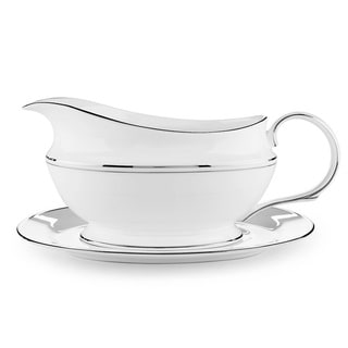 Lenox Federal Platinum Sauce Boat and Stand