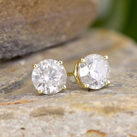 5b195d9a66308 Buy 1.5 to 2 Carats Diamond Earrings Online at Overstock   Our Best ...