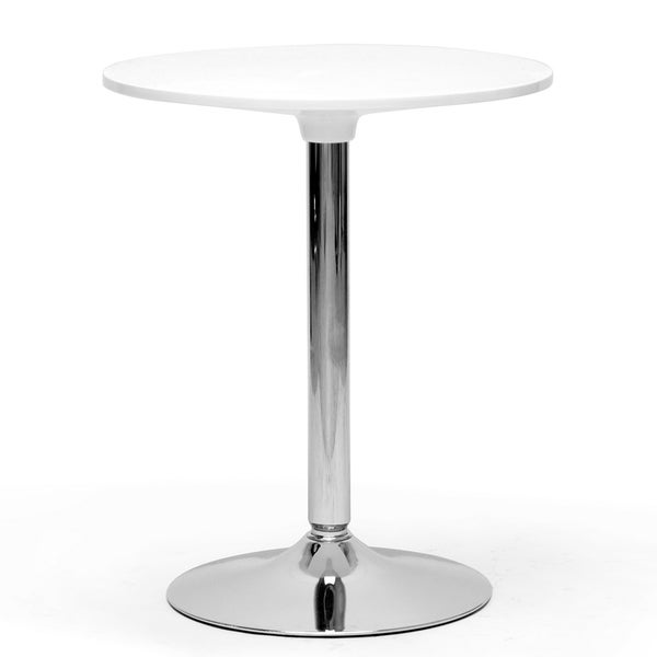 Small Table Modern : Ji Small White Modern Bistro Table - Free Shipping Today - Overstock ...