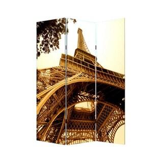 Paris 3-Panel Canvas Screen