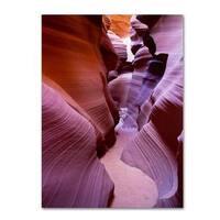 Pierre Leclerc 'Antelope Canyon 2' Canvas Art