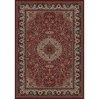 Merinos Prestige Red Area Rug